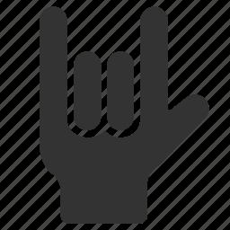finger, fingers, gesture, hand, love, sign, valentine icon