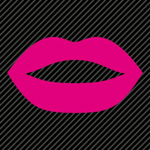 female, feminine, kiss, lip, lips, mouth, woman icon