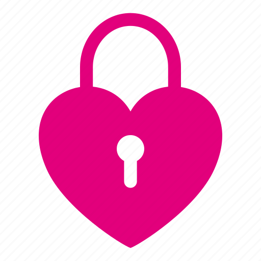 heart, hotel, lock, locked, love, romantic, valentine icon