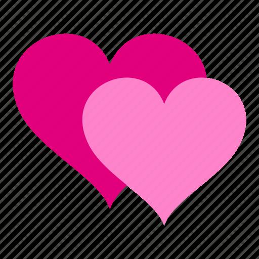 heart, hearts, love, romance, romantic, valentine, valentines icon