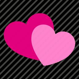 heart, hearts, love, romance, romantic, valentine's, valentines icon