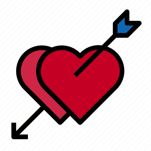 Arrow, heart, love icon - Download on Iconfinder