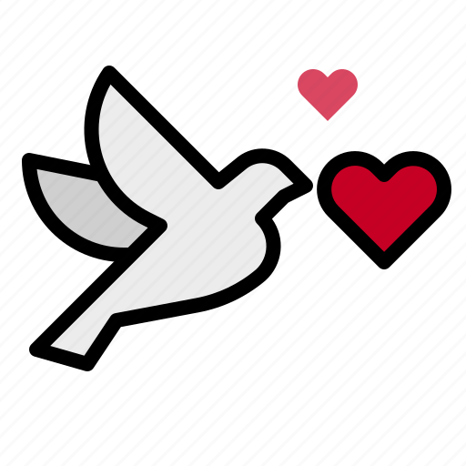 Bird, fly, love icon - Download on Iconfinder on Iconfinder
