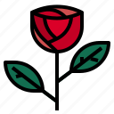 gift, love, rose icon