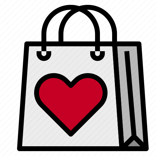 Shopping, shoppingbag, love icon - Download on Iconfinder