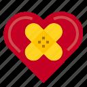 healing, heart, love, valentine