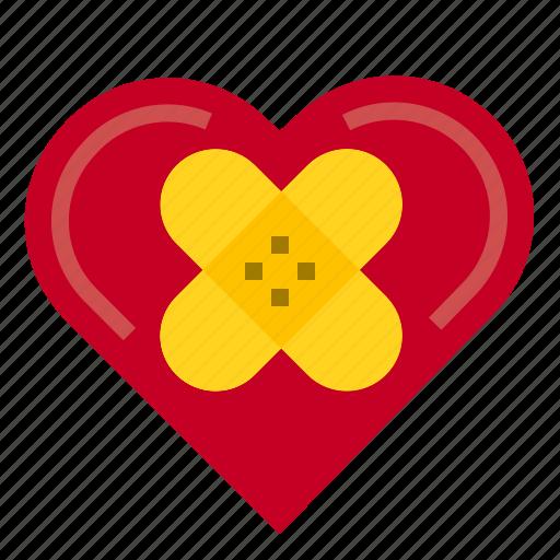 Healing, heart, love, valentine icon - Download on Iconfinder