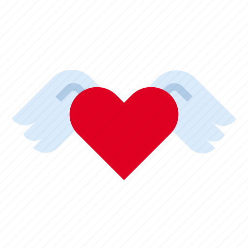 Heart, love, wing icon - Download on Iconfinder