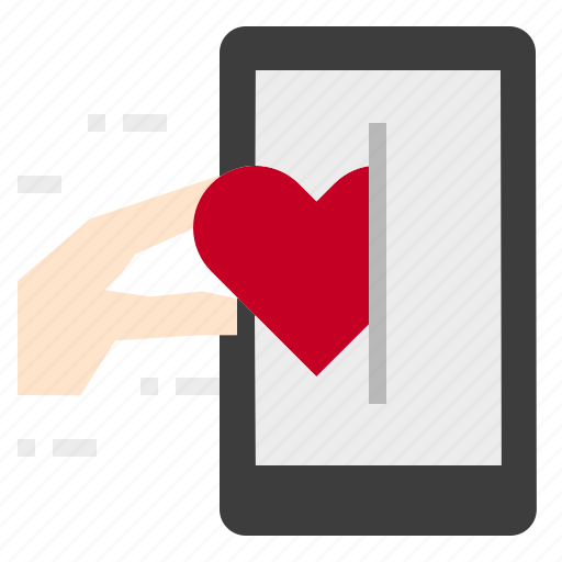 Heart, message, mobile, valentine icon - Download on Iconfinder