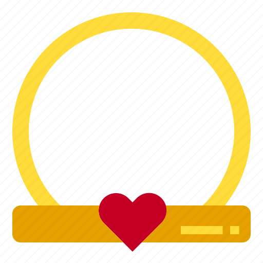 Heart, love, ring icon - Download on Iconfinder