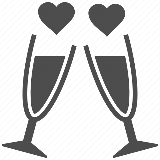 alcohol, bar, beverage, clink glasses, cocktail, drink cup, party icon