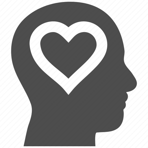 head, heart, love, lover person, romance, romantic, valentine icon
