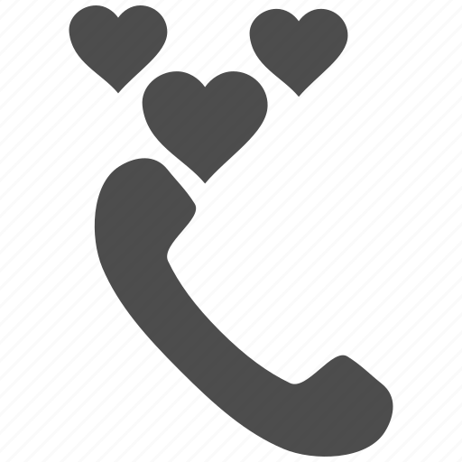 call, chat, love, message, phone, speaker, telephone icon