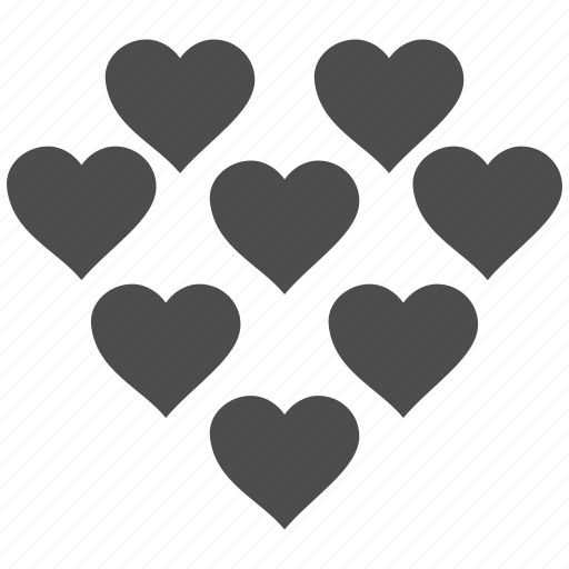 cute, inlove, love, lovely hearts, valenticons, valentines, wedding icon
