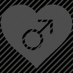 erotic, heart, male love, sex, sexy, valentin, valentine icon