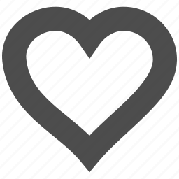 amour, cute, favorite, like, love heart, passion, valentine icon