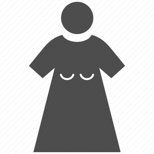 administrator, client, female account, girl, person, user, woman figure icon