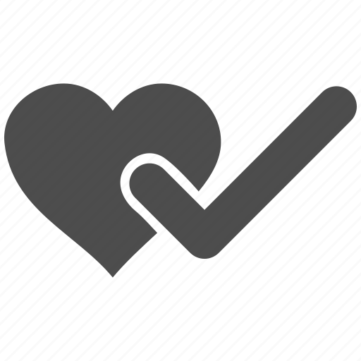 approve, checked, cute, inlove, love heart, test, wedding icon