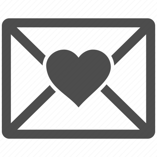 communication, email, envelope, love letter, mail, message, valentine icon
