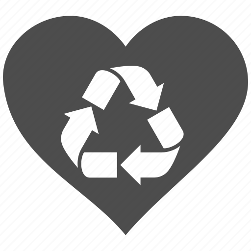 favorite, heart, like, love, party, recycle, trash icon