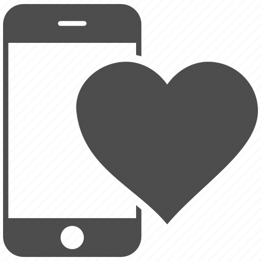 favorite, heart, like, love, lovely, message, smartphone icon