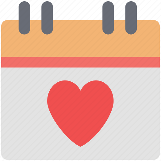 calendar, date, dating, day, event, love calendar, valentine day icon