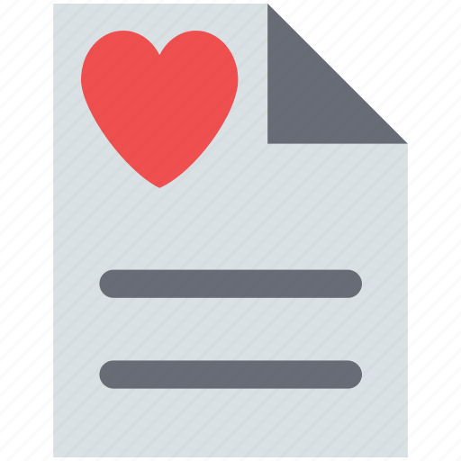 letter and heart, letter with heart, love letter, valentine greetings, valentine letter icon