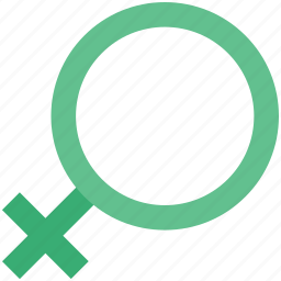 female, female sign, gender, girl, she, woman icon