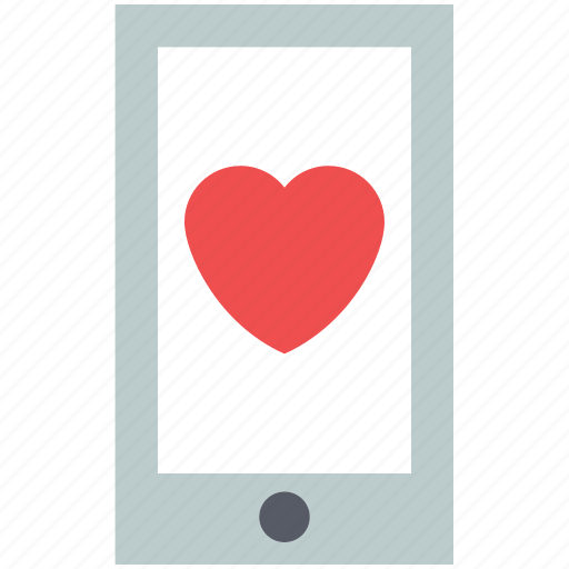 heart, love, love message, love notification, mobile, romance icon