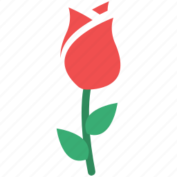 flower, i love you, love rose, love sign, rose, rose for love, rosebud icon