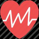 heartbeat, life, lifeline, pulsation, pulse