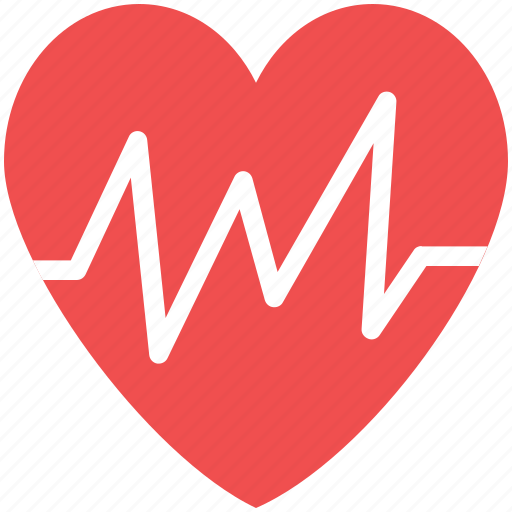 heartbeat, life, lifeline, pulsation, pulse icon