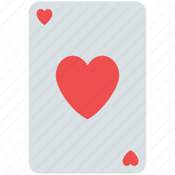 ace, ace card, hearts ace, playing card, poker card, poker heart icon