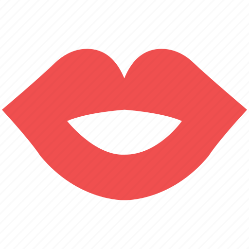 female lips, kissing, kissing gesture, kissing lips, lips, red, smiling lips icon
