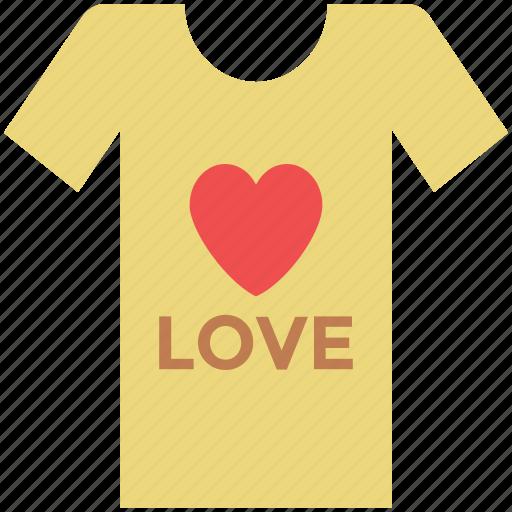 heart t-shirt, love shirt, love t-shirt, t-shirt, valentine shirt icon