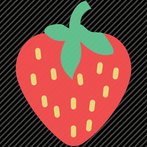 berry, diet, food, fresh, fruit, healthy diet, strawberry icon