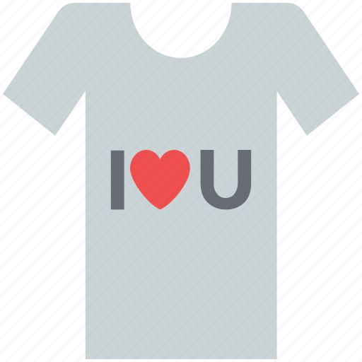 heart tee shirt, i love you, love shirt, love tee shirt, t-shirt, valentine shirt icon