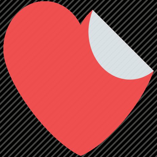 heart, heart sticker, love sticker, sticker, valentine sticker icon