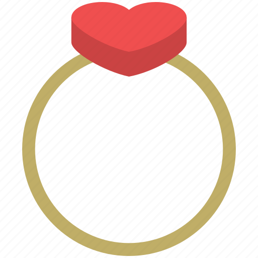 heart ring, jewelry, love ring, ring, wedding ring icon