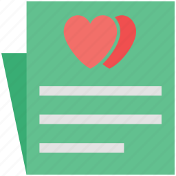 ecard, heart on card, love card, love greetings, lovers card, valentine card, wishing icon