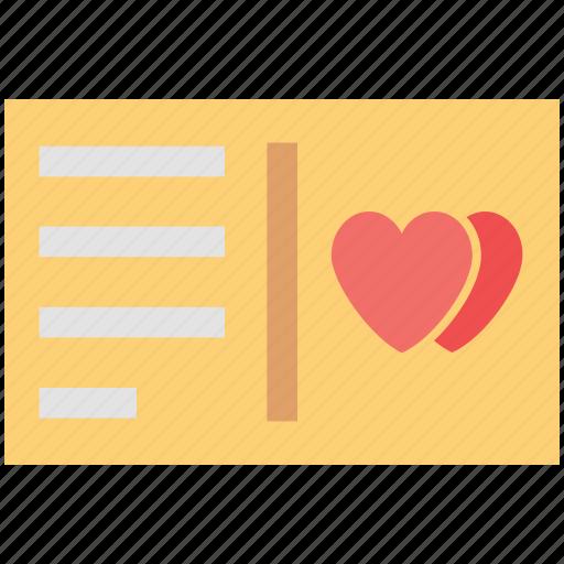 love card, love greeting, love letter, valentine greetings, valentine letter icon