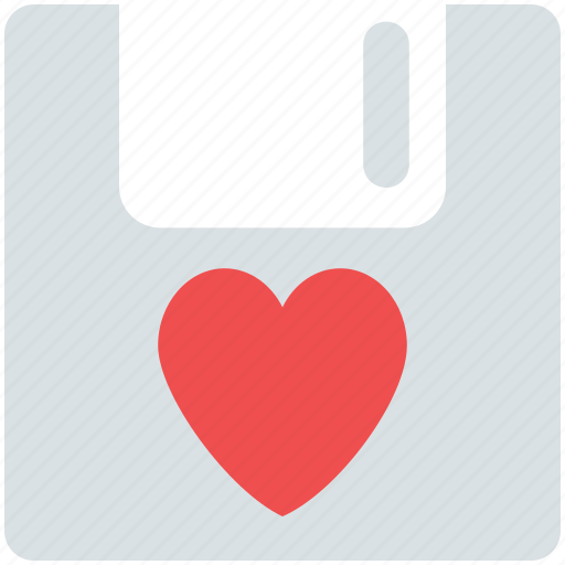 love, memory card, mobile card, romance, sd card, sim card with heart, valentine icon