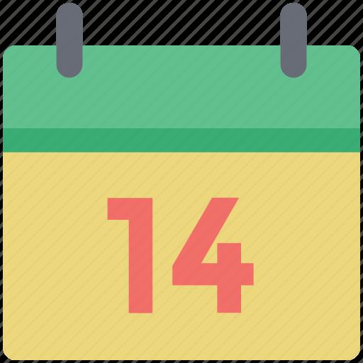 calendar, date, february, love day, romance day, valentine date icon