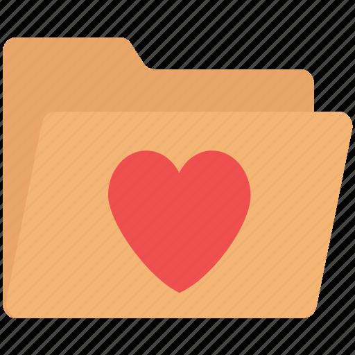 affection folder, folder, love data, love folder, romantic folder icon