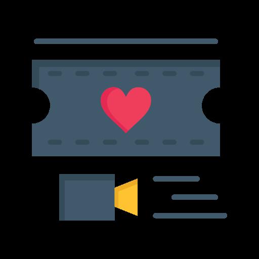 Day, filam, heart, love, valentine, valentines, wedding icon - Free download