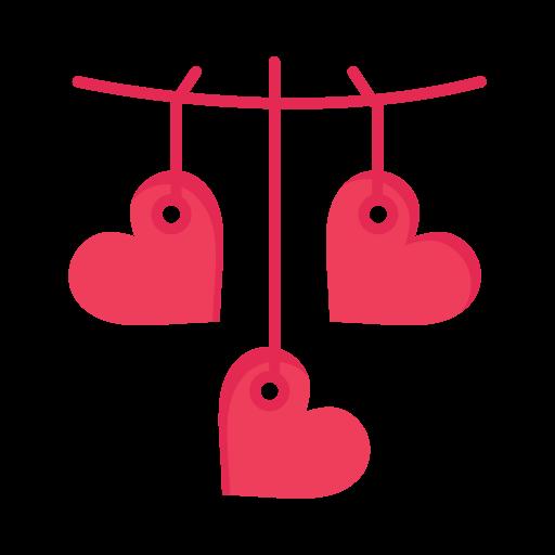 Day, hanging, heart, love, valentine, valentines icon - Free download