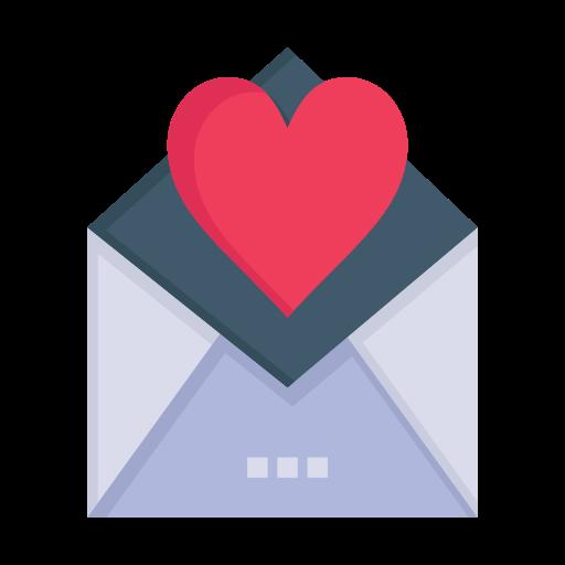 card, day, letter, love, mail, valentine, valentines icon