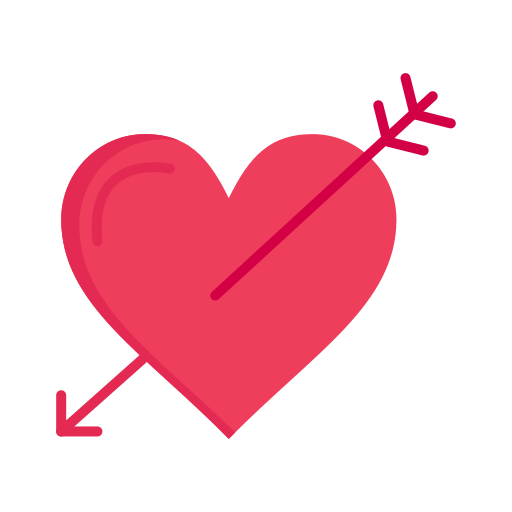 Arrow, day, heart, holidays, love, valentine, valentines icon - Free download