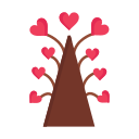 day, heart, love, tree, valentine, valentines