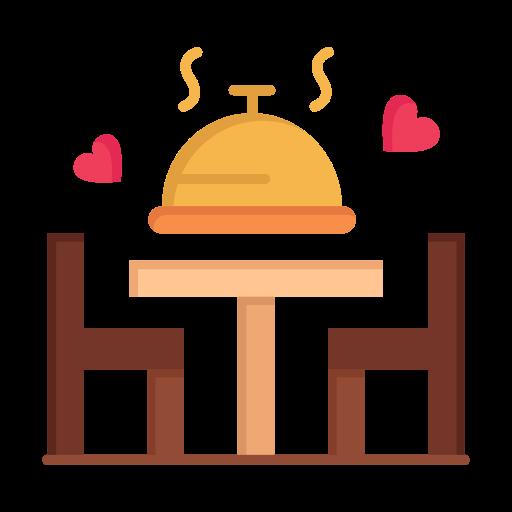 Day, dinner, love, plate, valentine, valentines, wedding icon - Free download